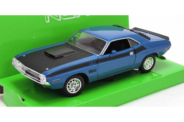 WELLY 1/24scale Dodge Challenger T / A BLUE [No.WE24029BL]