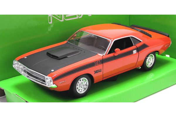 WELLY 1/24scale Dodge Challenger T / A Orange [No.WE24029OR]