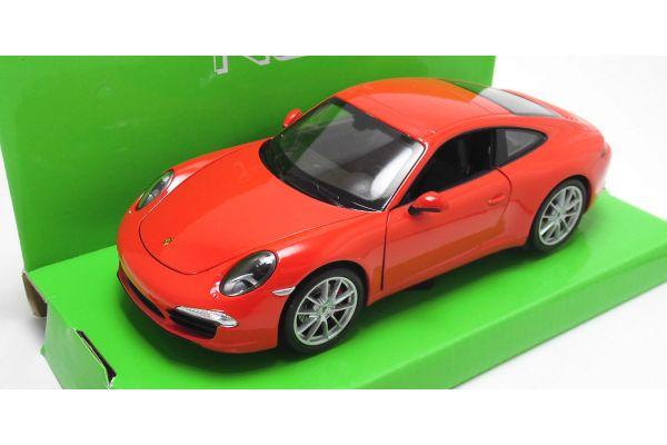 WELLY 1/24scale PORSCHE 911 (997) Carrera S RED [No.WE24040R]