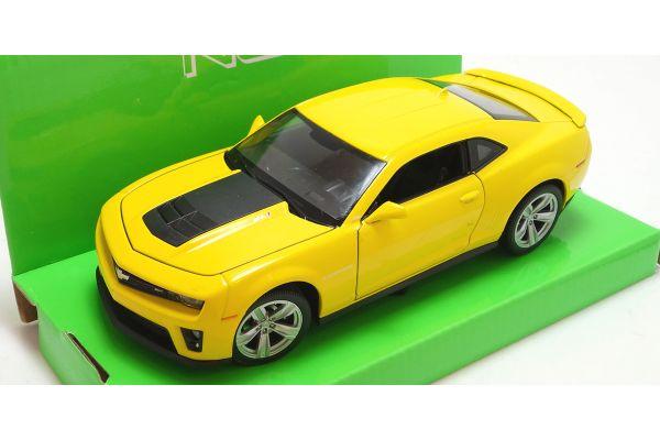 WELLY 1/24scale Chevrolet Camaro ZLI Yellow [No.WE24042Y]