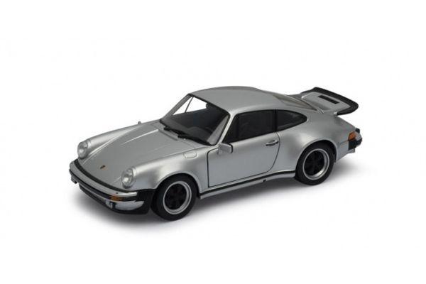 WELLY 1/24scale PORCHE 911 Turbo 1974 (Silver)  [No.WE24043S]