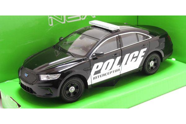 WELLY 1/24scale Ford police car interceptor  [No.WE24045BK]