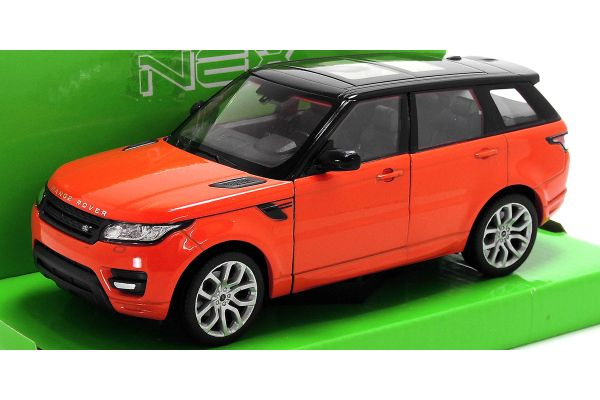 WELLY 1/24scale Land Rover RANGE ROVER SPORT Red  [No.WE24059R]