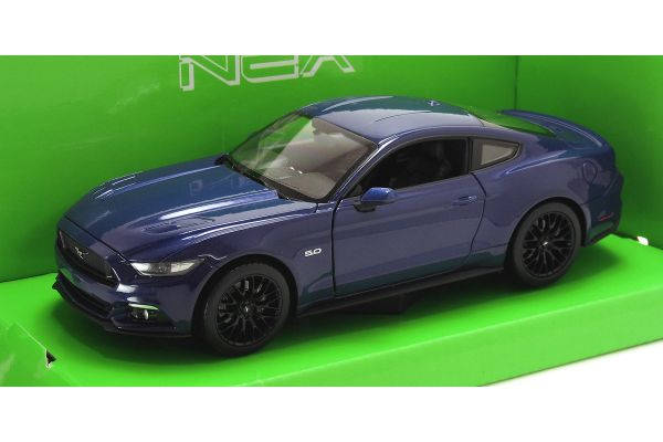 WELLY 1/24scale Ford Mustang GT 2015 Blue  [No.WE24062BL]