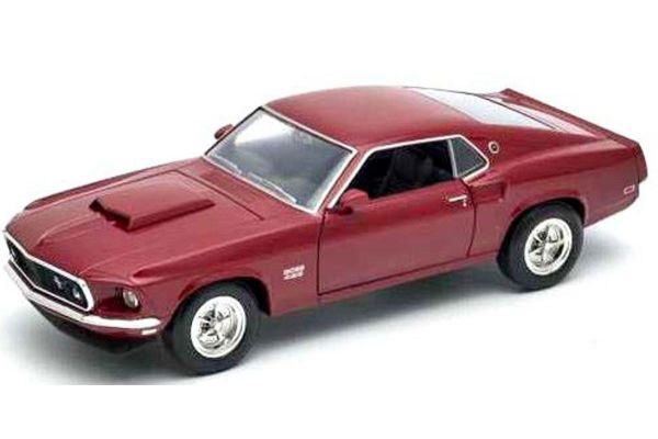 WELLY 1/24scale Ford Mustang BOSS 429 (Red)  [No.WE24067R]
