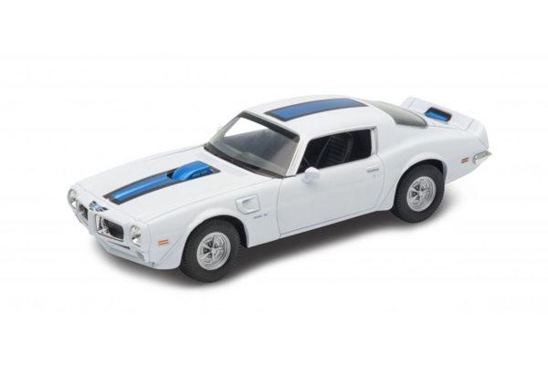 WELLY 1/24scale Pontiac Fire Bird Trans Am 1972 White  [No.WE24075W]