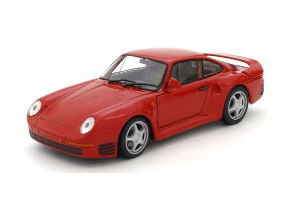 WELLY 1/24 ポルシェ 959 レッド WE24076R