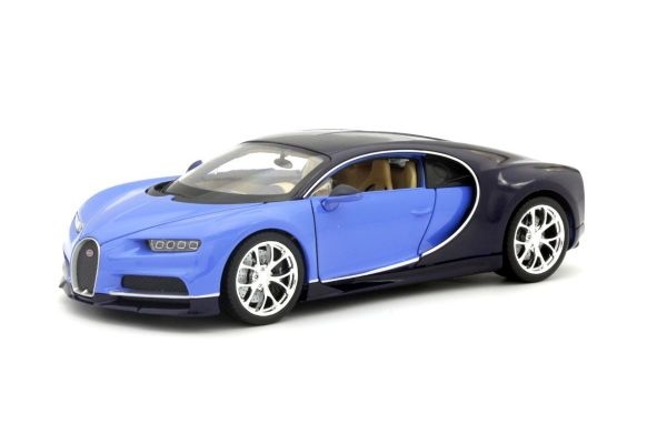 WELLY 1/24scale Bugatti Shillon (Blue)  [No.WE24077BL]