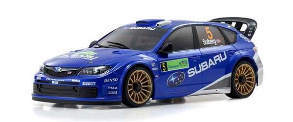 ミニッツAWD スバル インプレッサ WRC 2008